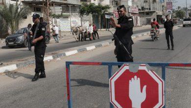 """صورة """"الداخلية"""" بغزة تفشل مخطط لزعزة الأمن في قطاع غزة"""
