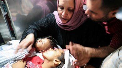 صورة 20 شهيد فلسطيني في قطاع غزة بينهم 9 أطفال