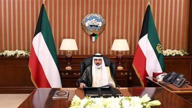 صورة أمير الكويت: لن نسمح بزعزعة أمن واستقرار البلاد