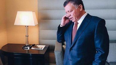 صورة ملك الأردن: الممارسات الإسرائيلية الاستفزازية بحق الشعب الفلسطيني قادت إلى التصعيد