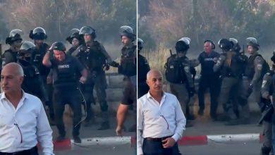 صورة بالفيديو: نشطاء يوثقون اعتداءات قوات الاحتلال الإسرائيلي على الصحفيين