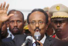 صورة رئيس الصومال يدعو لانتخابات جديدة