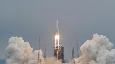 """صورة منظمة فضاء أمريكية تتوقع مكان سقوط """"الصاروخ التائه"""""""