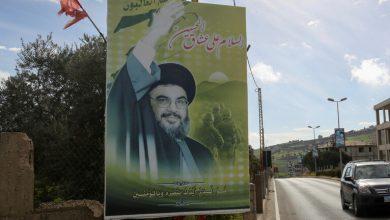 """صورة نصرالله يرحب بالحوار الايراني السعودي ويتحدث عن """"محور الأصدقاء"""""""