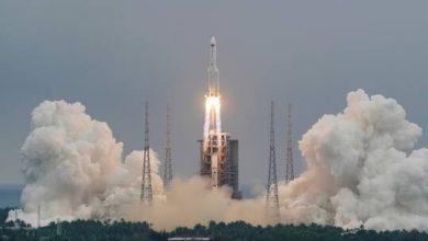 صورة وكالة فضائية روسية تحدد مكان وموعد متوقع لسقوط حطام الصاروخ الصيني التائه