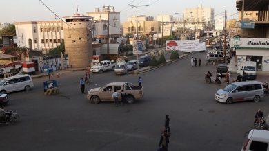 صورة وكالة: إصابة 7 مدنيين في مدينة مأرب بصاروخ باليستي