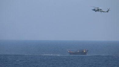 صورة طهران تعلق على مصادرة البحرية الأمريكية شحنة أسلحة في بحر العرب