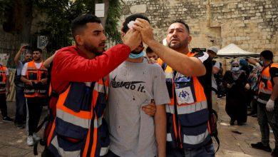 صورة أكثر من 200 إصابة بمواجهات القدس بينها حالة خطرة