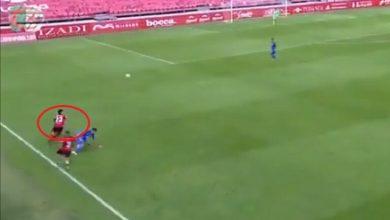 صورة بالفيديو: نايس جوهرة يسجل هدفا عالميا في الدوري الإسباني