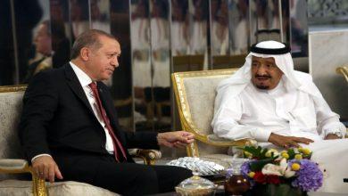 صورة أردوغان يهاتف الملك سلمان لبحث القضايا الثنائية