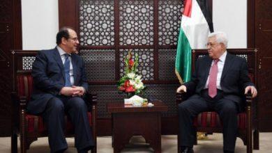 صورة عباس كامل يصل فلسطين لتثبيت التهدئة