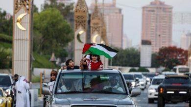 صورة قطر تندد بالانتهاكات الإسرائيلية في غزة ومسيرات في شوارعها تضامناً مع فلسطين