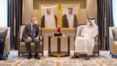 صورة مباحثات بين تركيا وقطر لتعزيز العلاقات البرلمانية