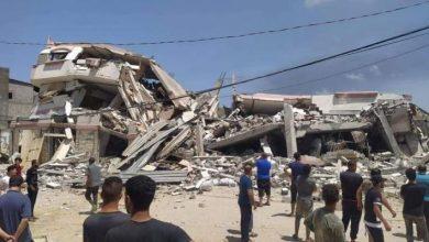 صورة الصحة الفلسطينية: 48شهيدًا و304 جريحًا خلال العدوان الإسرائيلي على غزة.