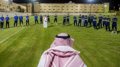 صورة أمير القصيم يحفز لاعبي نادي التعاون