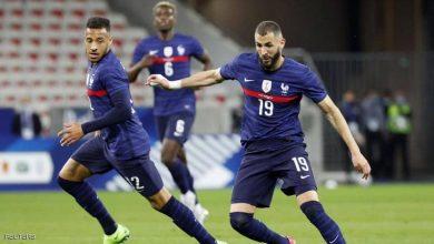 صورة كريم بنزيمة المتألق.. فرنسا تسحق ويلز بالثلاثة