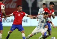 صورة تصفيات اميركا الجنوبية : الارجنتين تكتفي بالتعادل مع تشيلي وفوز كولومبيا على بيرو