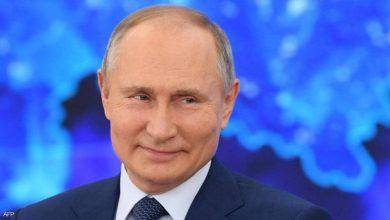 """صورة جواب غريب من بوتن عن سؤال """"خطف الطائرات"""""""