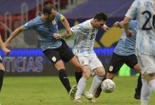 صورة رقم قياسي لـ ميسي بعد فوز الأرجنتين على أوروجواي