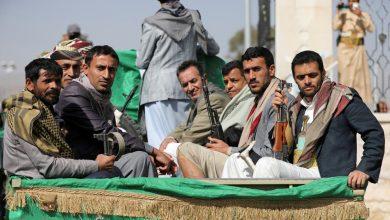 صورة قتلى وجرحى حوثيون بمعارك وغارات في مأرب