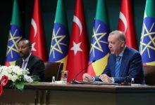 صورة آبي أحمد يشكر تركيا على تعاونها مع إثيوبيا في فترة حرجة