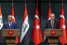 صورة أردوغان يعرب عن رضاه عن مسار العلاقات التركية العراقية