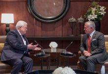 صورة إعلام إسرائيلي: العاهل الأردني التقى الرئيس الفلسطيني في زيارة مفاجئة للضفة