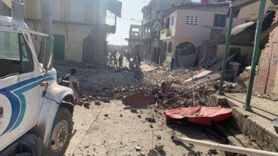 صورة ارتفاع حصيلة ضحايا زلزال هايتي إلى 1419 قتيلاً