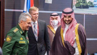 صورة الأمير خالد بن سلمان يكشف عن تفاصيل مباحثاته مع وزير الدفاع الروسي