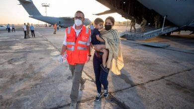 صورة البحرين تسير أول رحلة تجارية ضمن عمليات الإجلاء بأفغانستان