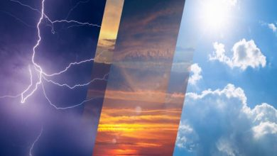 صورة الطقس المتوقع غداً الجمعة: رياح نشطة وفرصة لهطول أمطار رعدية