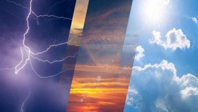 صورة الطقس المتوقع غداً السبت: هطول أمطار رعدية مصحوبة برياح نشطة على هذه المناطق