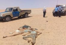 صورة العثور على جثث 5 مصريين وسط ليبيا