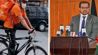صورة بالصور: قصة وزير أفغاني انتهى به المطاف للعمل في توصيل الطلبات على دراجة هوائية بألمانيا