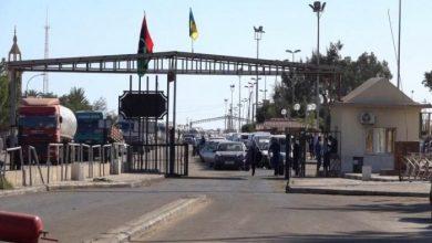 صورة بعد شهر من الإغلاق.. ليبيا تعيد فتح كافة حدودها مع تونس