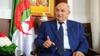 صورة تبون: أغلب حرائق الجزائر بفعل أياد إجرامية