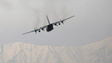 صورة تحطم طائرة أفغانية جنوبي أوزبكستان – صورة