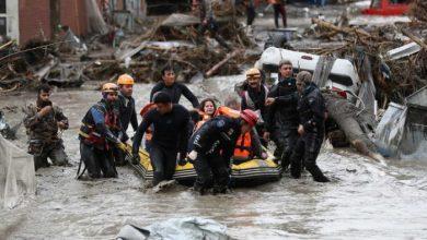 صورة تركيا.. ارتفاع حصيلة ضحايا الفيضانات إلى 40