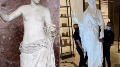 صورة شاهد تمثال إله الحب يثير جدلا في الكويت