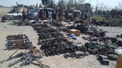 صورة شاهد طالبان تتمكن من الإستيلاء على عدد ضخم من الأسلحة الأمريكية