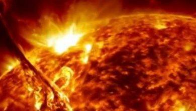 صورة شاهد فيديو يرصد انفجاراً شمسياً مذهلاً