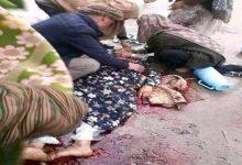 صورة شاهد: مسلحو طالبان يقتلون أفغانية لعدم ارتدائها البرقع