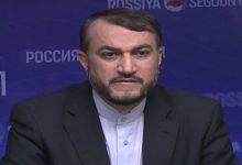 صورة عبد اللهيان المرشح للخارجية الإيرانية: سنواصل نهج سليماني في المنطقة