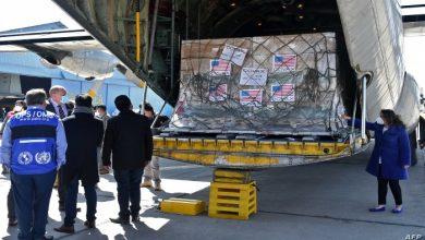 صورة كورونا.. أمريكا تدعم العراق بنصف مليون جرعة لقاح