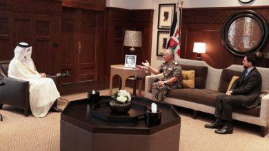صورة مباحثات قطرية أردنية حول العلاقات الثنائية وأزمات المنطقة