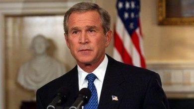 صورة مسؤول صيني بارز ينشر فيديو إعلان بوش نهاية طالبان قبل 20 عاما ساخراً منه