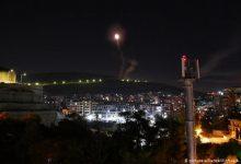 صورة مقتل 4 من ميليشيا حزب الله في قصف إسرائيلي بريف دمشق