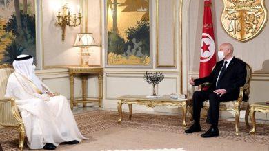 صورة ملك البحرين ورئيس تونس يبحثان سبل تعزيز العلاقات الثنائية