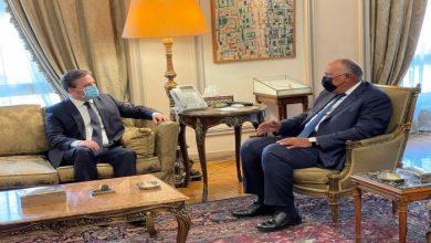 صورة وزيرا الخارجية المصري والصربي يبحثان تعزيز العلاقات الثنائية