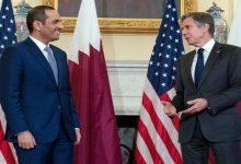 صورة وزير الخارجية الأمريكي يشكر قطر والكويت بسبب أفغانستان